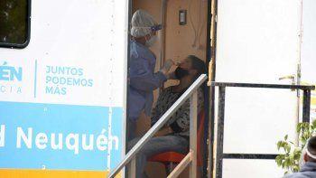 Neuquén sumó otros 213 nuevos positivos de coronavirus