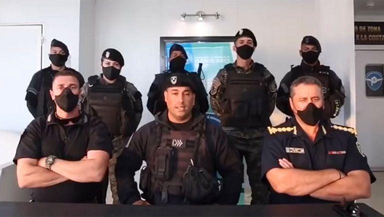 ¿Los policías que saludaron a Bullrich fueron usados políticamente?