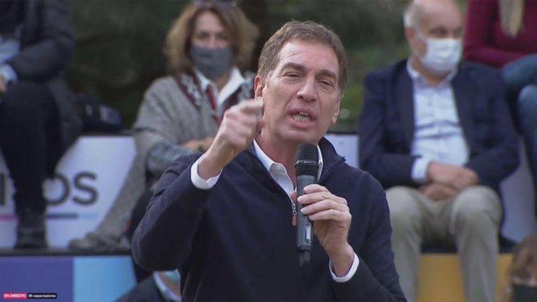 Con show de Lilita, Diego Santilli lanzó su candidatura