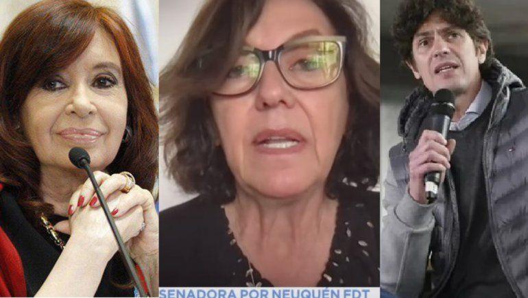 La emoción de Cristina por la respuesta de Sapag a Lousteau