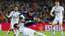 barcelona-real madrid: hora, tv y probables formaciones