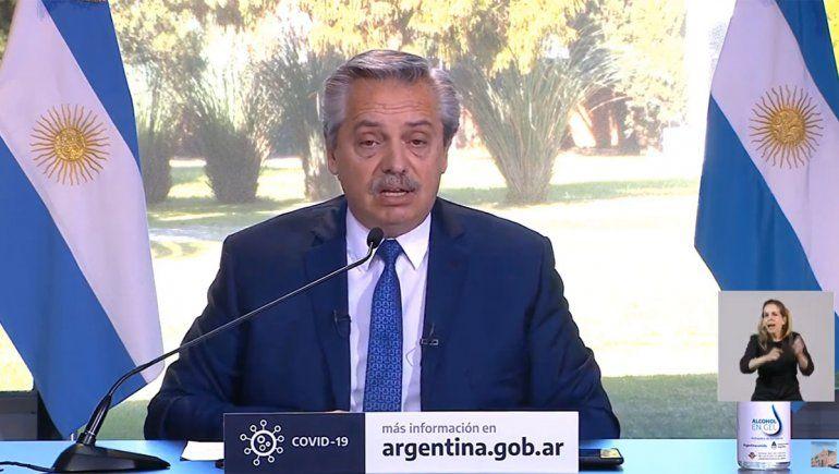 Alberto Fernández extendió el aislamiento hasta el 30 de agosto