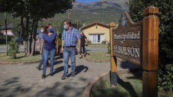 El intendente de El Bolsón dijo que se perdió la paz social