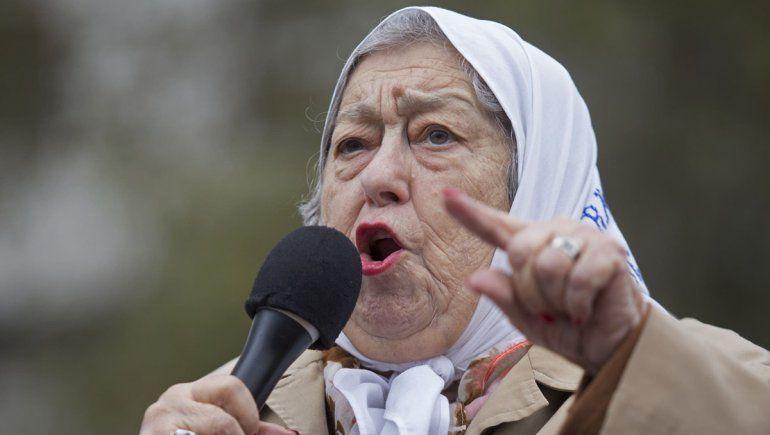 La carta de Hebe de Bonafini al FMI: Cóbrenle a Macri