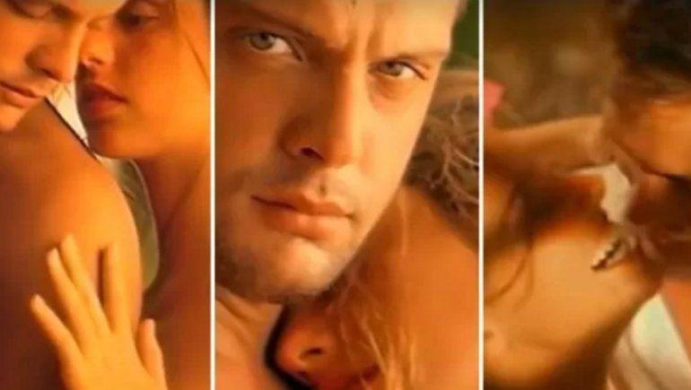 Luis Miguel en el videoclip de Suave