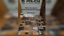 secuestraron $150 mil y 100 dosis de cocaina en kiosco narco