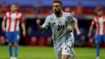 ¡grande pa-pu! con gol de gomez, argentina clasifico a cuartos