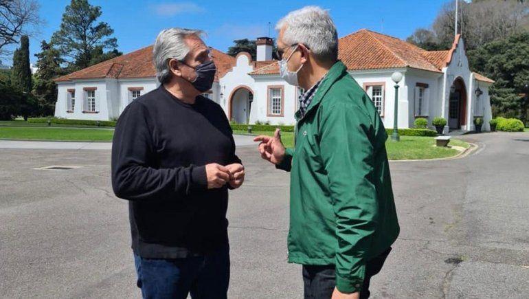 Julián Domínguez se reunió con Alberto y Manzur