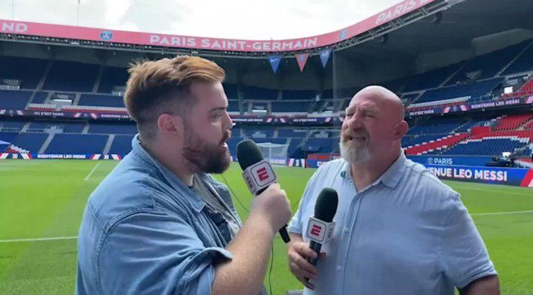 La tentadora terapia del Vikingo Martin previo viaje a cubrir a Messi