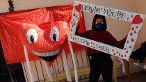 plottier hace campana para llegar a los 300 donantes de sangre