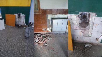 una escuela no abre porque tiene los calefactores clausurados