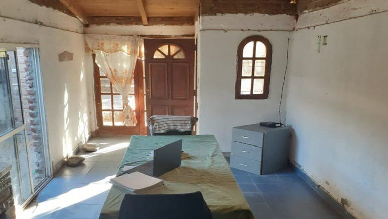 En el barrio Confluencia acondicionan una casa para alojar
