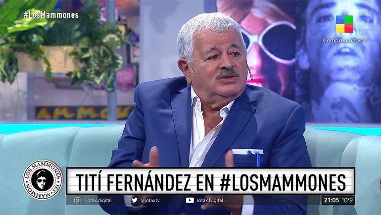 La técnica de Tití Fernández para zafar de la colimba