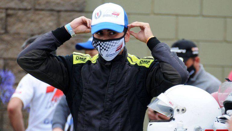 Vale oro: Valentín Jara festejó en la Fórmula Metropolitana