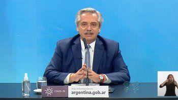 El Presidente anunció que la provincia de Neuquén abandona el aislamiento social