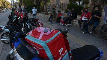 Delivery de paro: repartidores de Pedidos Ya reclaman salarios