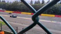Las 24 Horas de Spa-Francorchamps comenzó con un fuerte accidente