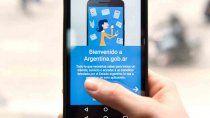 con una app, podes consultar si sos beneficiario de algun plan social del gobierno