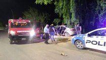 plottier: volcaron tras una persecucion policial de 5 kilometros