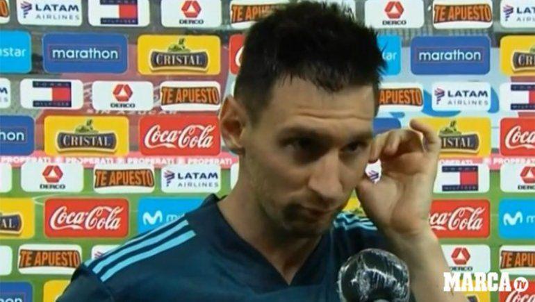 Messi fue entrevistado por Marca | Foto: Captura Marca Tv