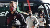 tras la suspension, el partido de river se juega manana en paraguay