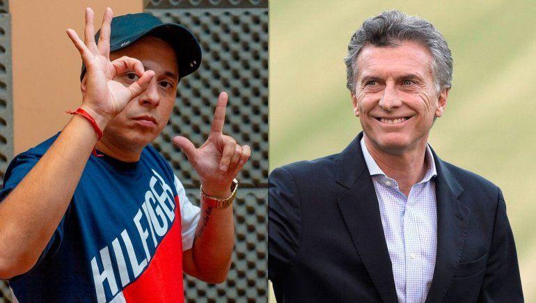 El polémico guiño de Macri a una provocadora propuesta de El Dipy