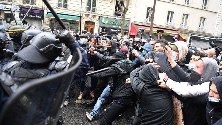 París: líos y detenidos por el Día del Trabajador