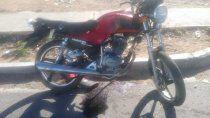 un adolescente de 14 anos esta grave tras chocar en moto