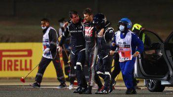 Romain Grosjean manifestó sus sensaciones luego del tremendo accidente que sufrió en el arranque del Gran Premio de Bahréin de Fórmula 1.