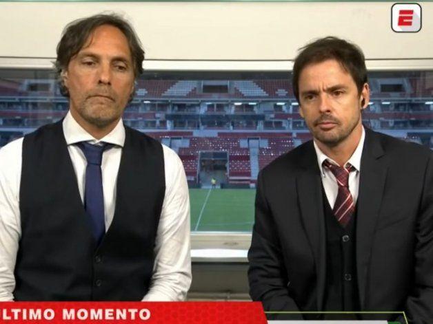 Gustavo López con Closs.