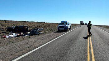 Ruta 40: turistas de Buenos Aires volcaron y están internados