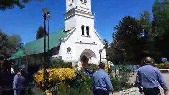 El Bolsón: atrapan a dos personas que iban a incendiar la iglesia