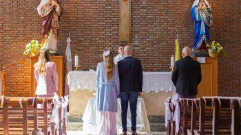Súper íntimo: los detalles de la fiesta de casamiento de Abel Pintos y Mora