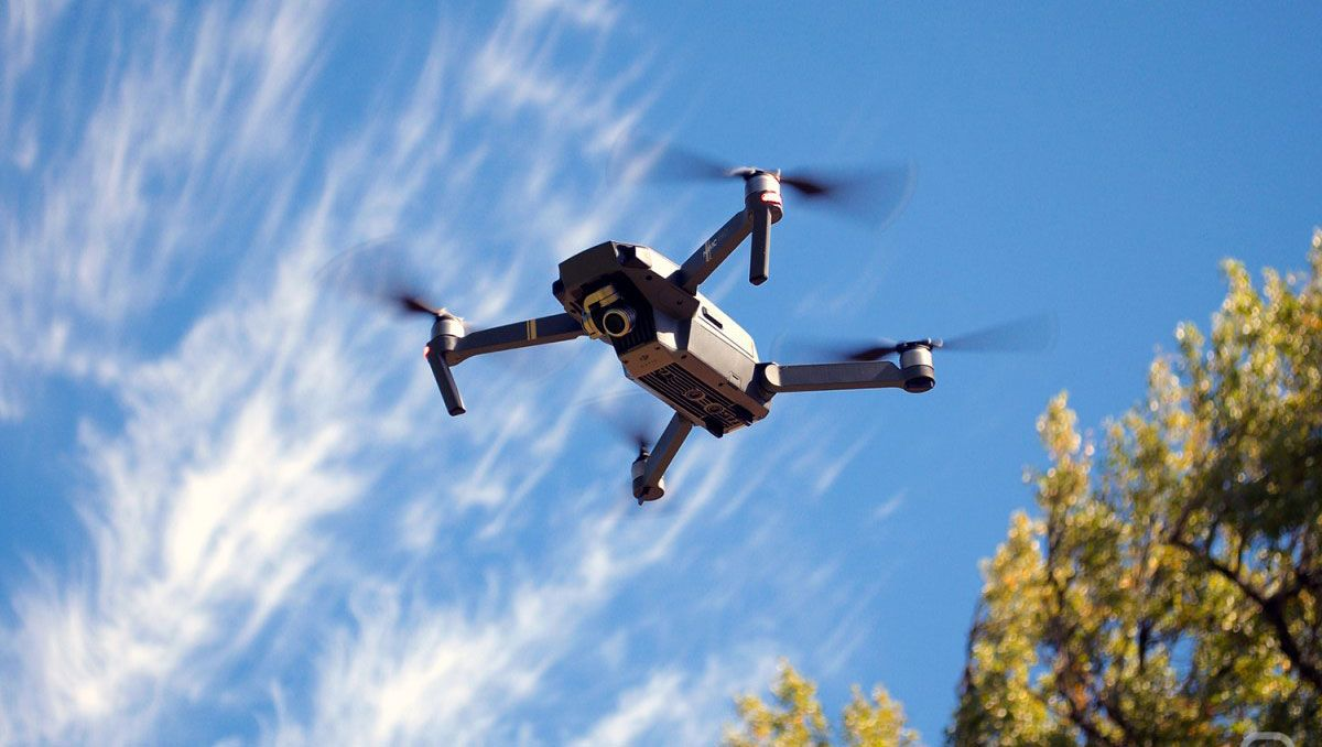 la increible foto ganadora del concurso de drones
