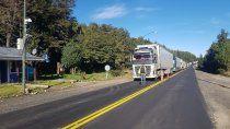 tras la tension, los camioneros chilenos liberaron el piquete