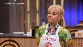 claudia regresa a las grabaciones de masterchef celebrity