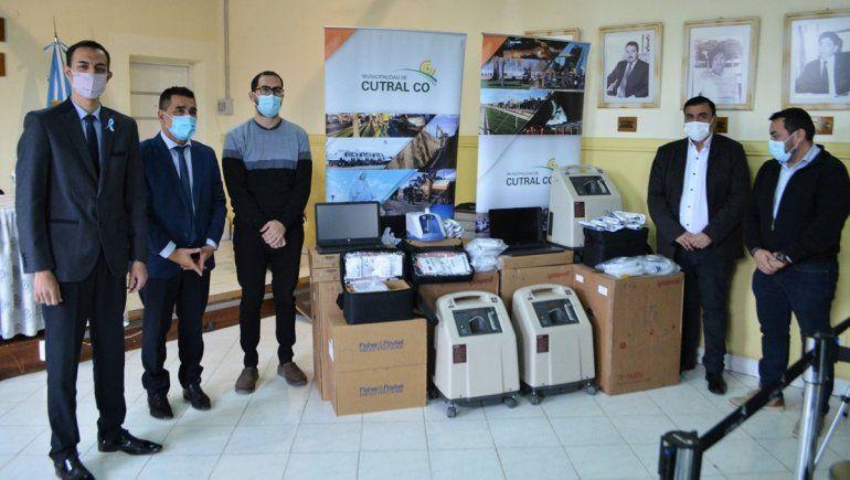 Covid-19: la Municipalidad de Cutral Co donó insumos a su hospital