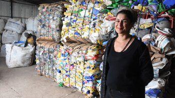 La emprendedora que demuestra que el reciclaje también es cultura
