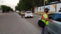 secuestraron 10 autos en los controles del sabado