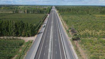 habilitan dos puentes para agilizar el transito en ruta 22