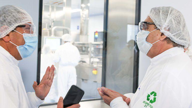 Alberto afirmó que en abril se distribuirá la vacuna de Argentina y México