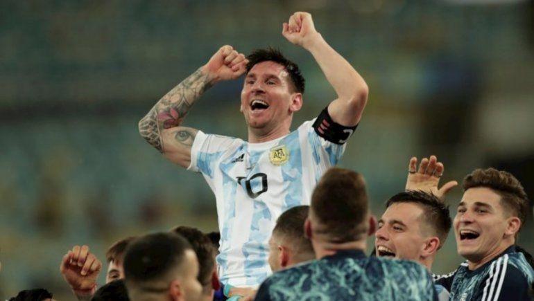 Instagram: Messi rompe récord con su foto junto a la Copa América.
