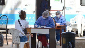 COVID: hubo 2 muertes y se contagiaron otras 180 personas