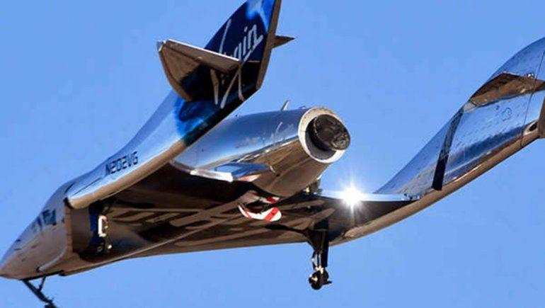 Suspenden los vuelos turísticos de Virgin Galactic