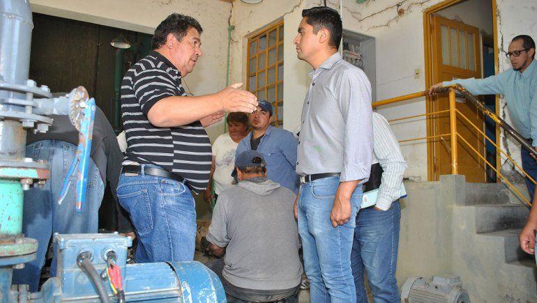Buscan recuperar el servicio de agua en Mariano Moreno