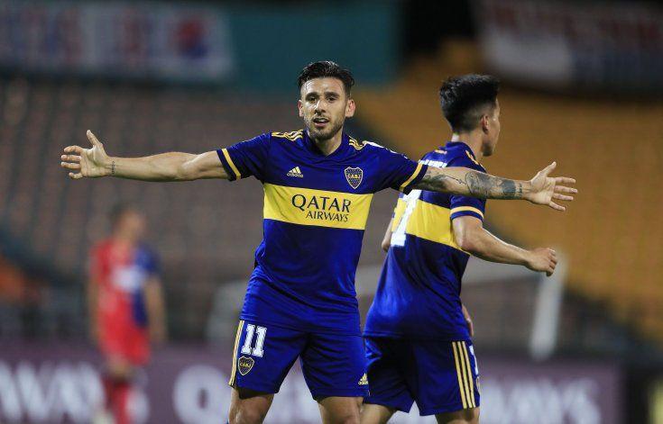 Sobre el final apareció Salvio y ganó Boca