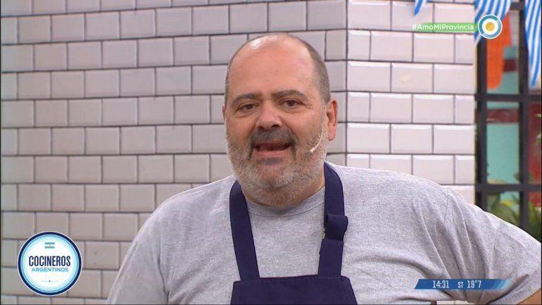 Después de 12 años, Calabrese deja Cocineros Argentinos