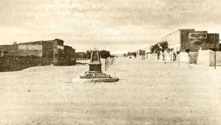 Cutral Co en sus comienzos