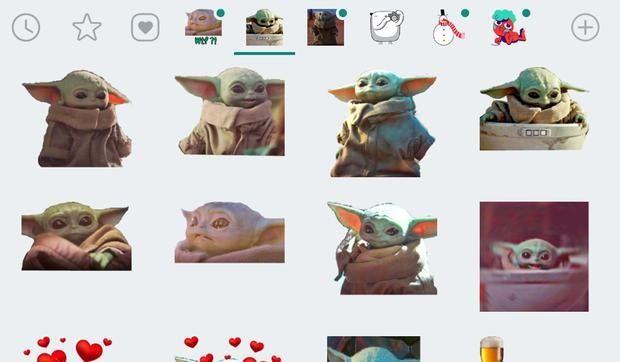 WhatsApp: celebra el día de Star Wars con stickers de Baby Yoda