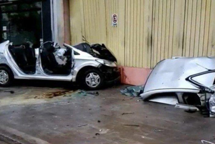 Accidente fatal: cruzó en rojo, chocó y mató al conductor
